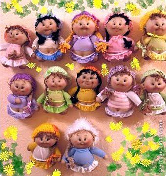 Кукольная история про современных кукол и кукол наших бабушек