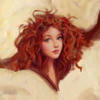 Какой цвет одежды подходит к рыжим волосам